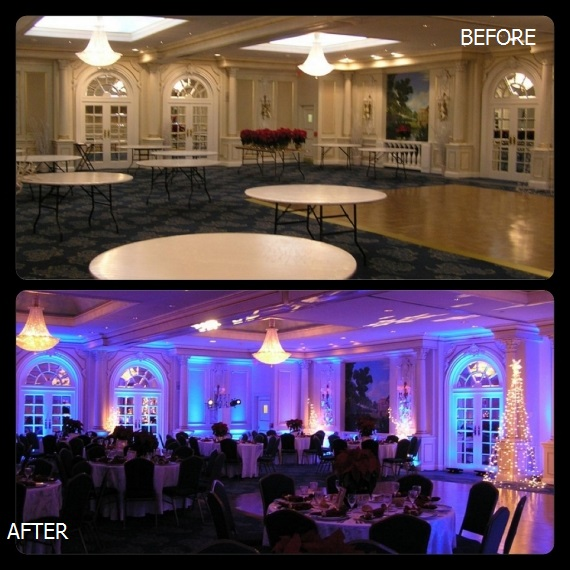 Uplighting Before and After 1